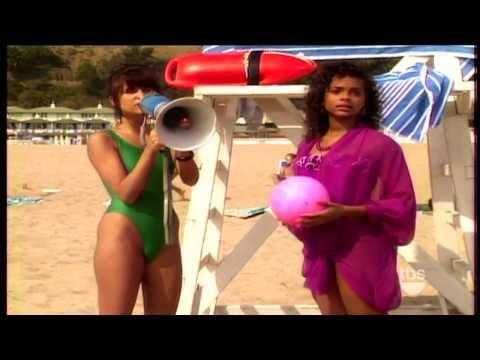 Tiffani Amber Thiessen Green One Piece Swimsuit HD thumbnail