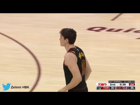 Cedi Osman'ın 4. Toronto Raptors maçı performansı: 20 dk, 5 sayı, 2 rbd, 2 ast