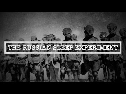 The Russian Sleep Experiment | The Most Terrifying Human Exp