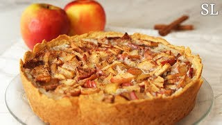 """Очень Нежный и Вкусный Пирог """"Яблоки НА Снегу"""". Простой Рецепт!"""