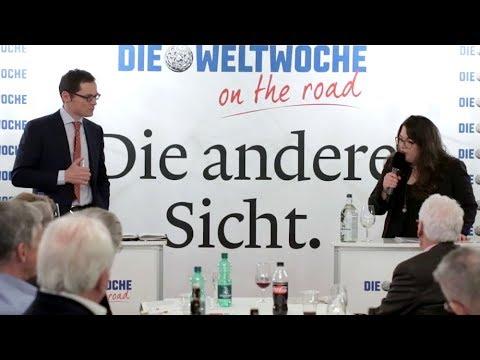 Weltwoche On the Road: Tamara Funiciello & Roger Köppel
