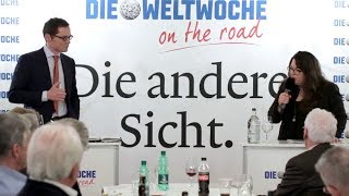 Weltwoche On the Road: Tamara Funiciello & Roger Köppel