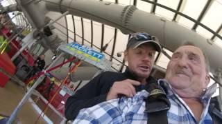 03.08.2016 87-летний россиянин установил рекорд в скайпарке Сочи