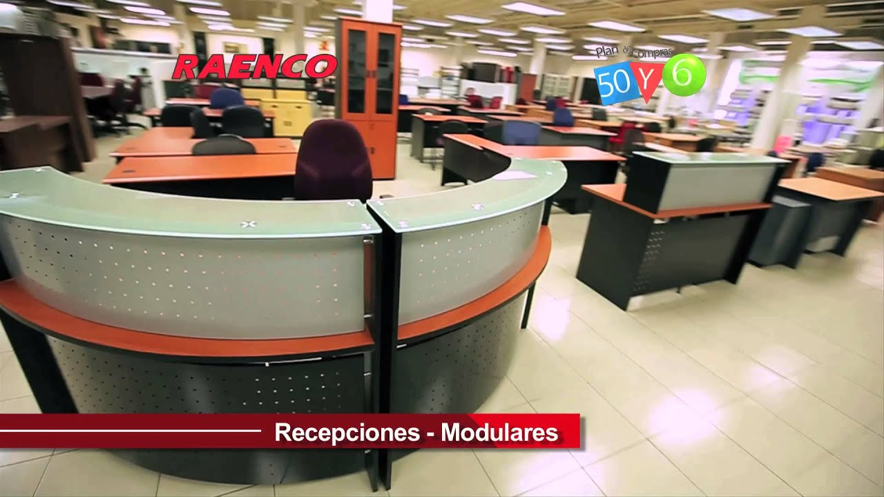 Raenco muebles de oficina youtube for Muebles sillas oficina
