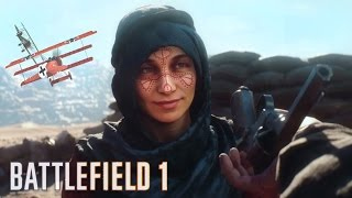 Battlefield 1 - Campaign Story Mode Ending Gameplay Walkthrough Part 3! (BF1 PC Gameplay)