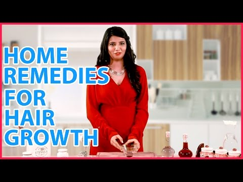 2 Best HOME REMEDIES TO INCREASE HAIR GROWTH (Women & Men)