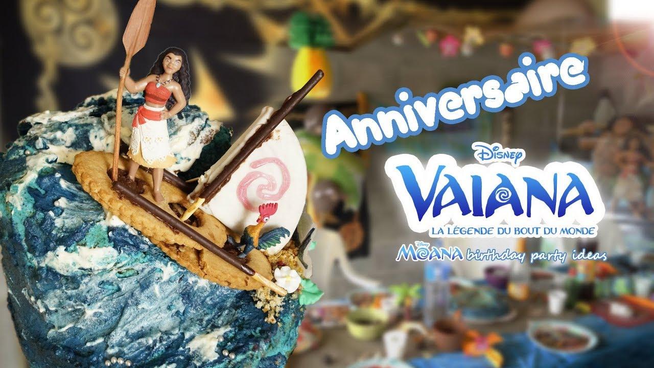 Anniversaire Vaiana Disney Moana Birthday Party Ideas