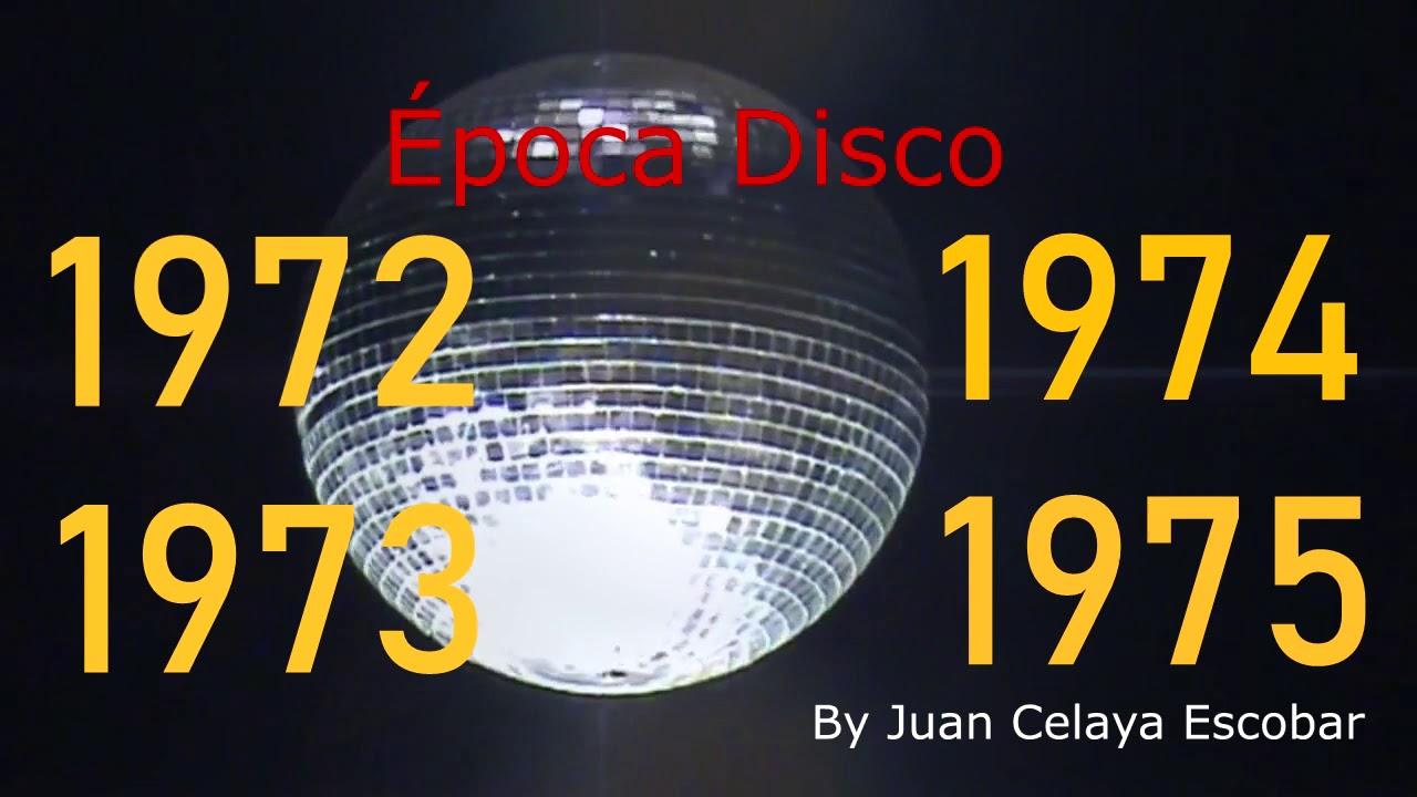 Música Disco 1972 1973 1974 Y 1975 Youtube