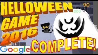 Google Doodle   Halloween Game 2016   Complete Walkthrough   End Credits