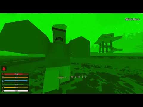 Unturned 3.30.1.0 - Punching A Mega/Hulk To Death (Hard, Pure Skill)