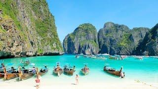 อ่าวมาหยา เกาะพีพีเล จ.กระบี่ Maya Bay, Koh Phi Phi Leh, Krabi, Thailand