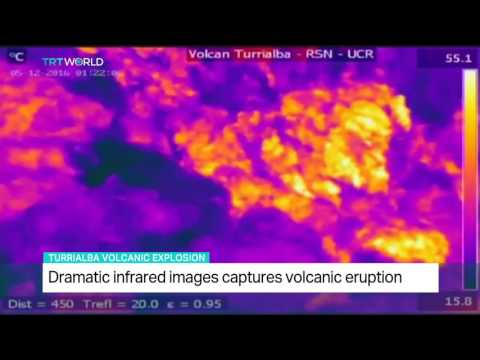 Dramatic infrared images capture