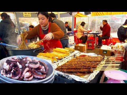 Best Authentic Korean Street Food at Seoul Market | Street food around the world in Korea markets