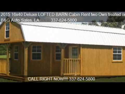 Watch on floor plans for 16x40 deluxe cabin