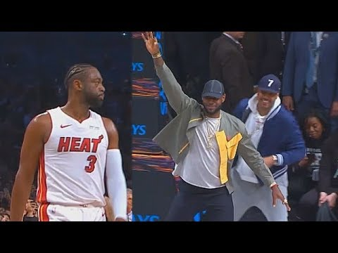 4f8512403883 Dwyane Wade Last NBA Game Makes LeBron James