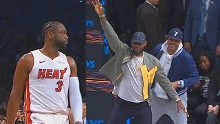 Dwyane Wade Last NBA Game Makes LeBron James, Carmelo, & Chris Paul Go Crazy In Final Minutes