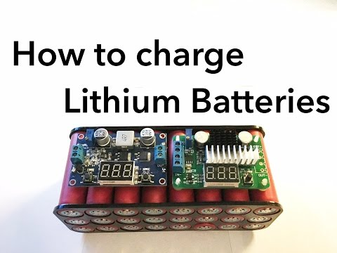 How To Charge Lithium Batteries