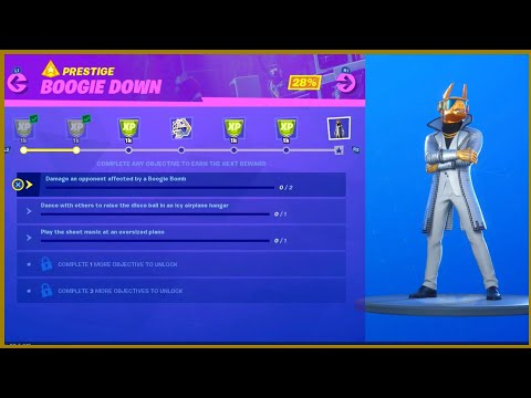 Fortnite Play The Sheet Music At An Oversized Piano