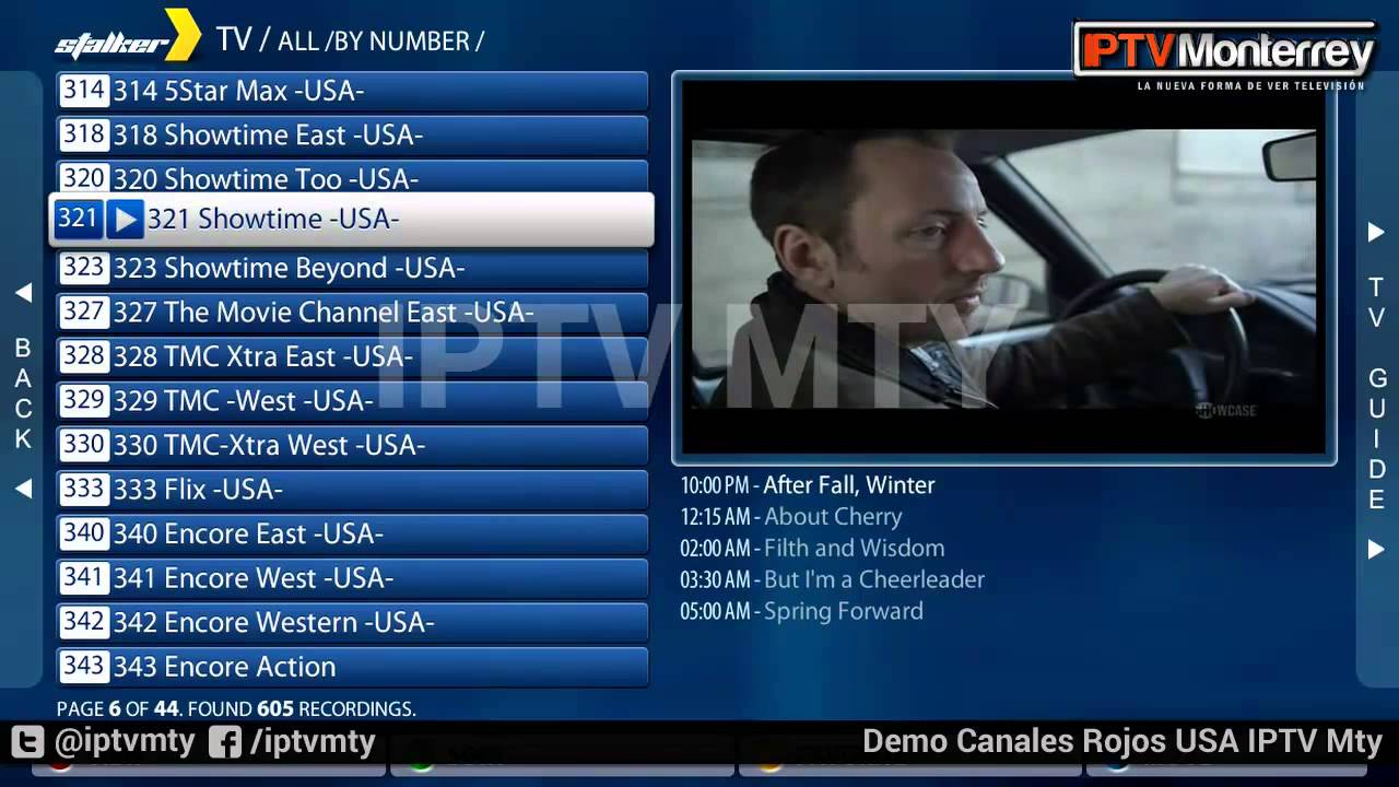 IPTV - Xbmc vs iptv