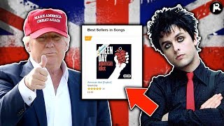 "Green Day's ""American Idiot"" Might Hit #1 (Thanks to Trump Troll)"