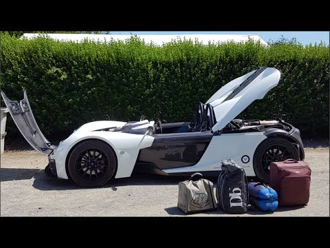ELEMENTAL RP1 - Picking up Beer in one of the fastest road legal cars in the world! - 2017