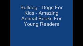 Bulldog – Dogs For Kids – Amazing Animal Books For Young Readers
