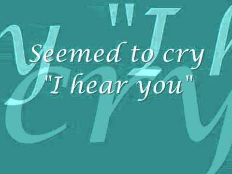 Gerard Butler - No One Would Listen - Lyrics