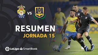 Resumen de UD Las Palmas vs AD Alcorcón (1-1)