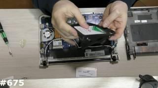 Повна розбирання нетбука і встановлення SSD Samsung NC110