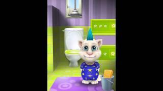 『マイ・トーキング・トム』で作ったこの動画をチェックしてね。アプリ...