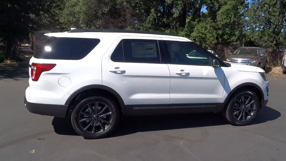 2017 Ford Explorer Redding Eureka Red Bluff Northern California