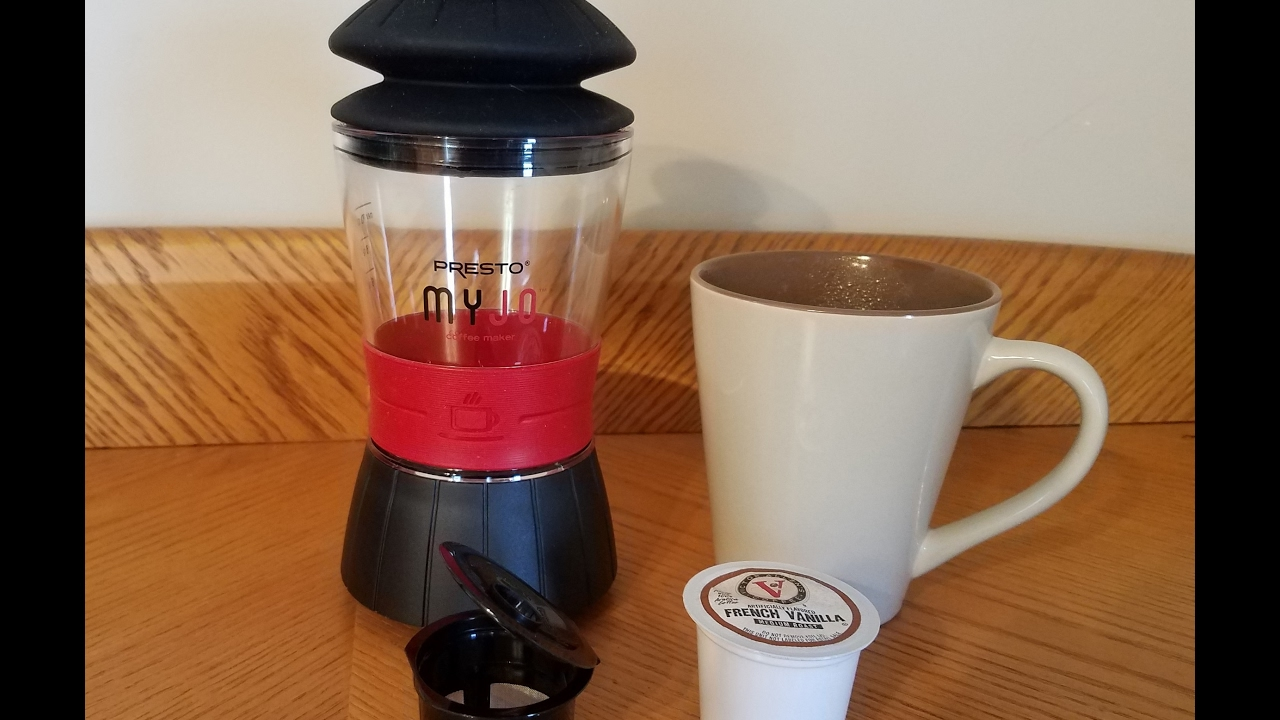 Presto Myjo Single Cup Coffee Maker Problem Fixed