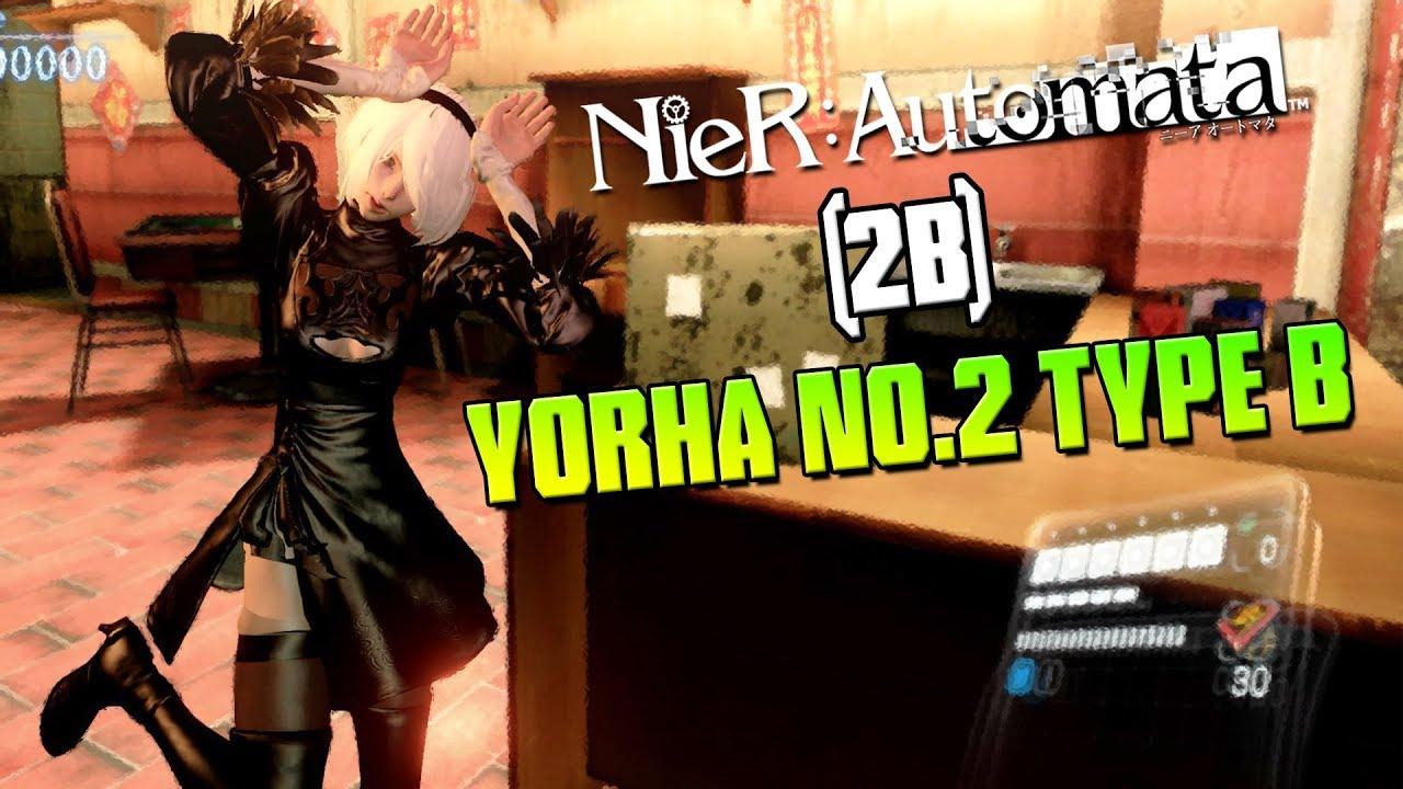 Resident Evil 6 ➤ Nier Automata 2B Mod Gameplay!
