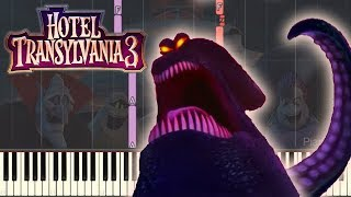 🎵 Kraken Theme - Hotel Transylvania 3 [Piano Tutorial] (Synthesia) HD Cover