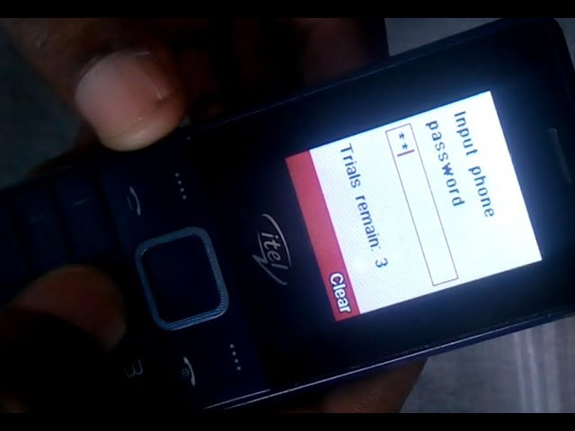 How to Flash And Format Itel,2160 MT6261