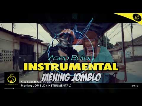 Asep Balon - Mening Jomblo (Instrumental) Official by StingaSound Music