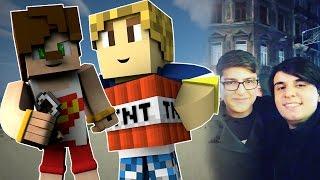 Burak Oyunda ile Küs Müyüz ? | Minecraft Gizlenmiş TNTler