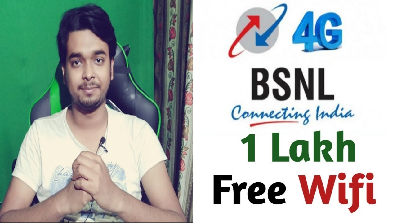 BSNL is going to launch 100000 Wi-Fi hotspot in India within one year for free