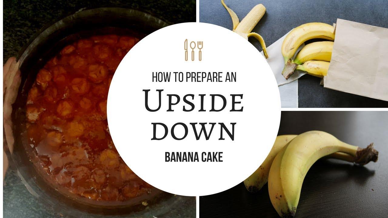 Upside down caramelized banana cake - Brazilian style! - YouTube