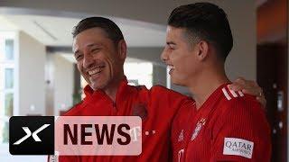 Niko Kovac über Joshua Kimmichs Position, James Rodriguez und Renato Sanches | FC Bayern | SPOX