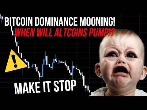 BITCOIN PRICE PUMP IS DUMPING ALTCOINS! Bitcoin Dominance Too High?