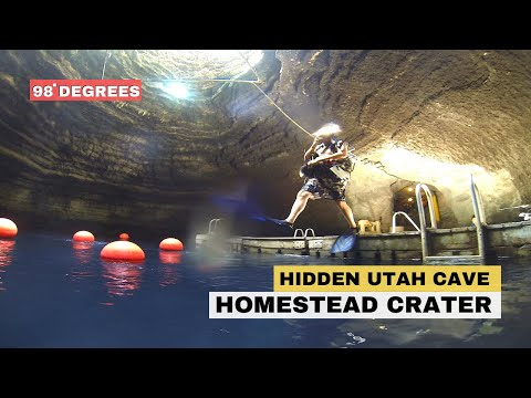 Homestead Crater - Midway, Utah Geothermal Spring HD