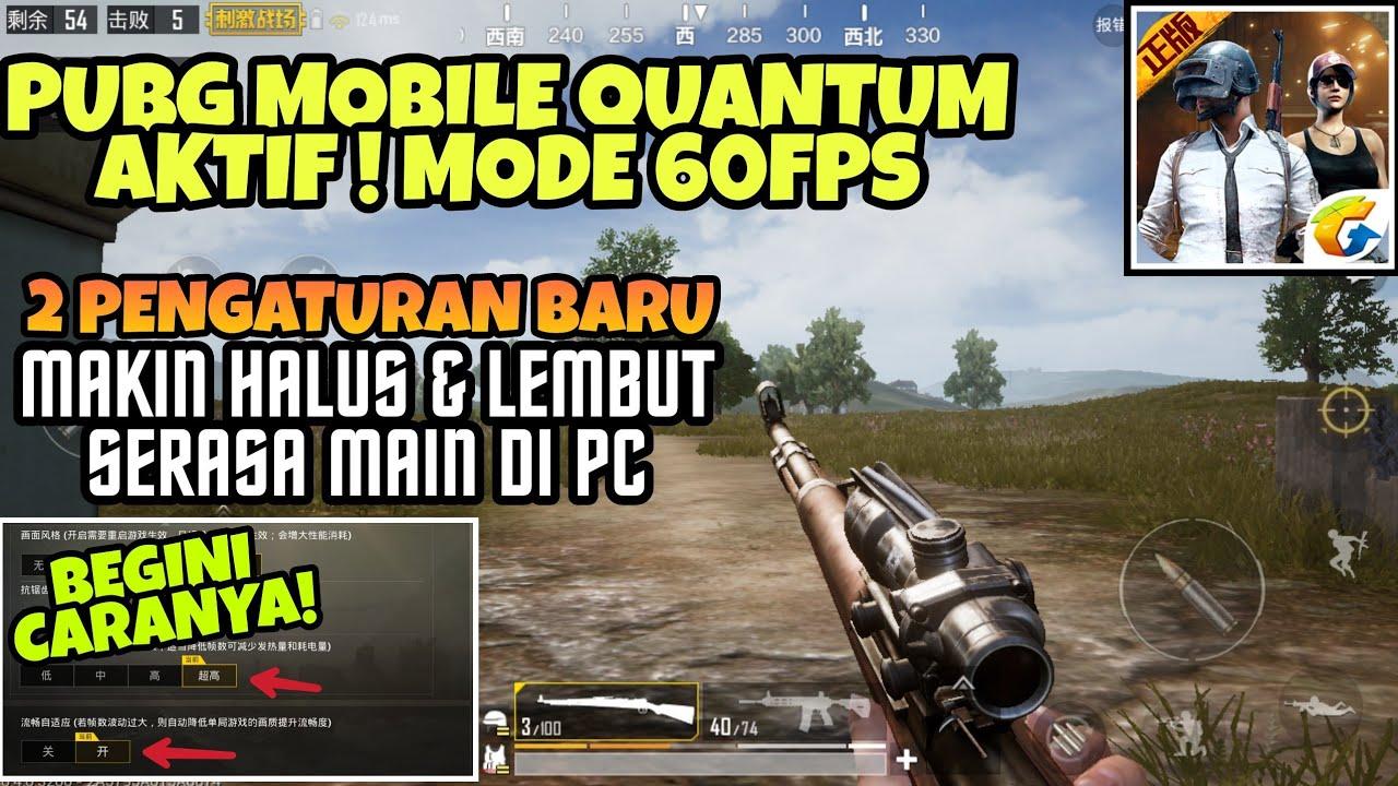 Coba Mode 60fps Di Pubg Mobile Quantum Makin Halus Serasa Main