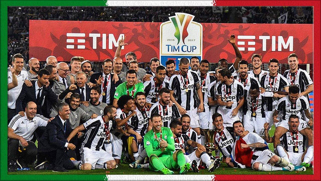 Coppa Italia 2016-17 (Celebration) - YouTube