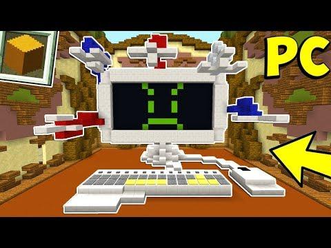 IL COMPUTER EPICO - Build Battle Minecraft ITA