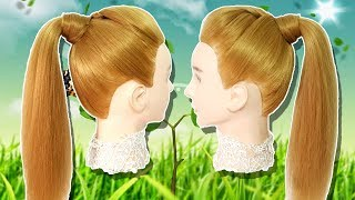 Last Minute Hairstyles for party/wedding/function 🌾Side braid hairstyles 🍓 hairstyles for girl2019