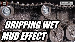 How to make wet mud effect on your tank model - VMS Alkyd binders GLOSS tutorial