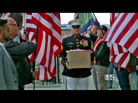 Remains Of Heroic Petaluma Marine Killed By Lightning Returned Home