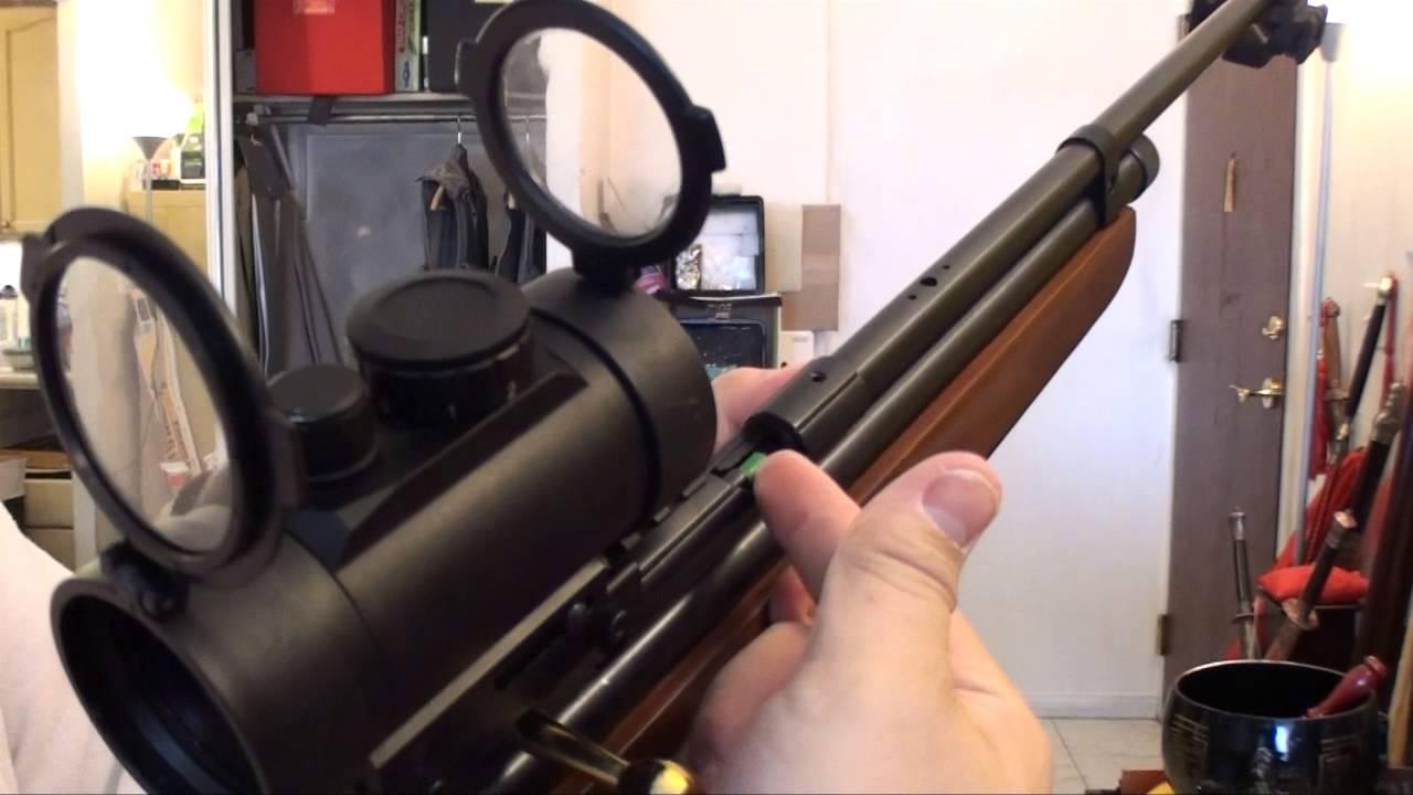 QB78  22 Air Rifle VS HARD DISK