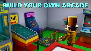 Building Our Own Arcade! Arcade Tycoon! *Part 1* [Roblox]